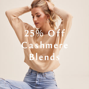 25% Off Cashmere