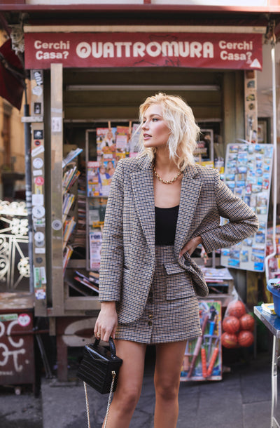 Harlow Plaid Blazer