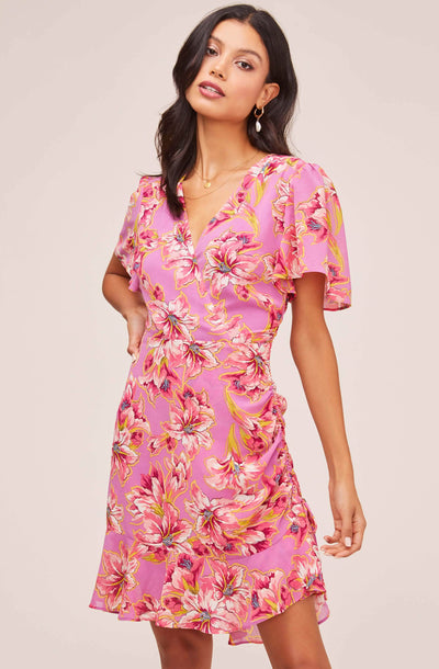 Elizabeth Floral Mini Dress