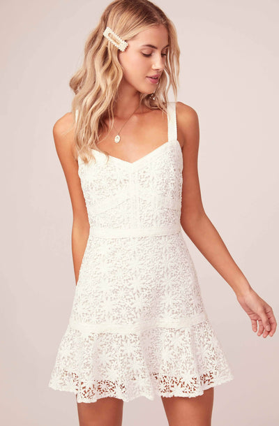 Carissa Lace Mini Dress