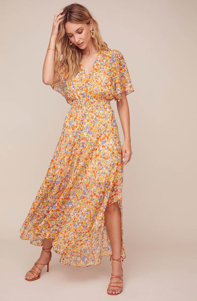 Sophronia Floral Maxi Dress