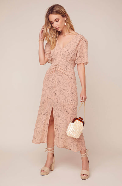 Kindred Floral Midi Dress