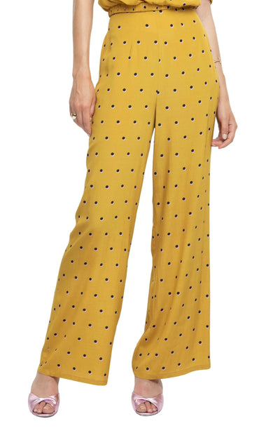 Burke Polka Dot Wide Leg Pants