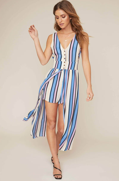 Carmen Striped Jumpsuit