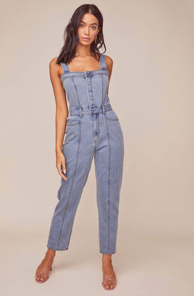 In Depth Denim Jumpsuit