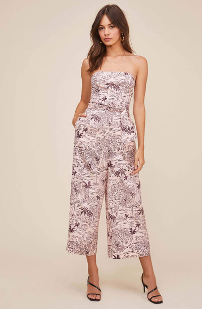 Kona Tropical Strapless Jumpsuit