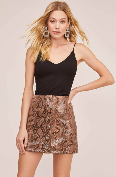Come Slither Mini Skirt