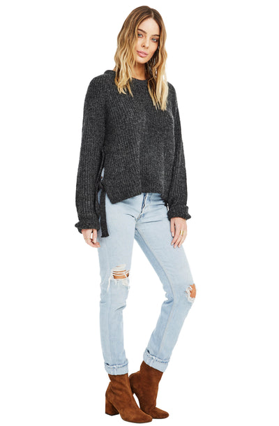 Lexie Side Tie Knit Sweater