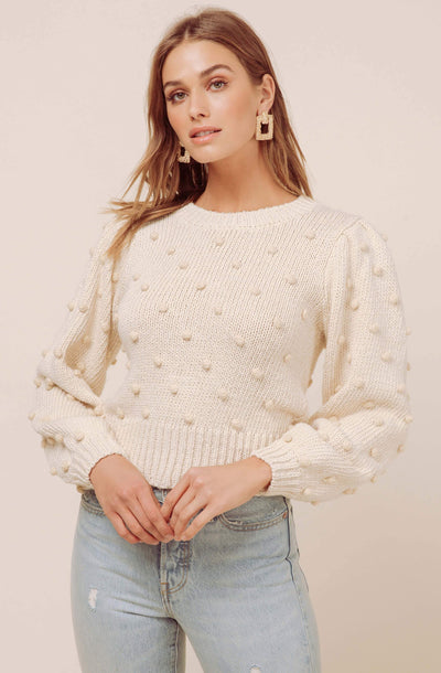 Aidy Puff Sleeve Sweater