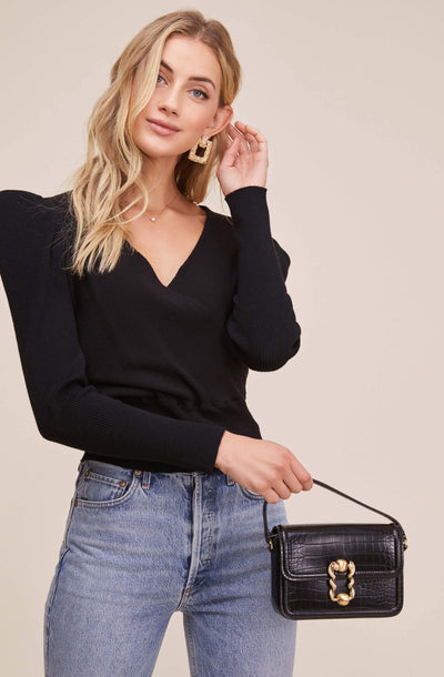 Suki Wrap Sweater