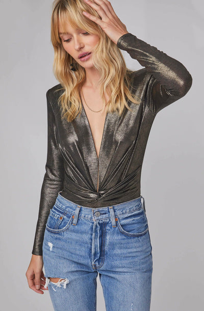 Luxe Metallic Bodysuit