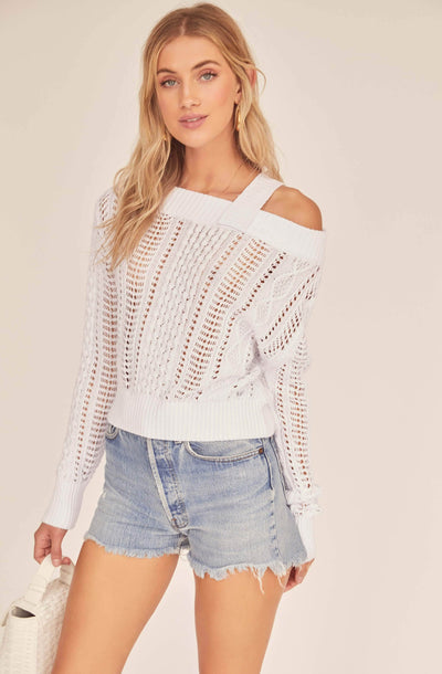 Daphne Off Shoulder Sweater
