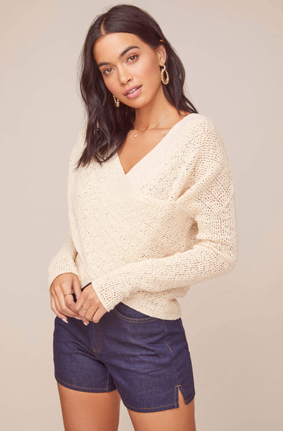 Mae Wrap Sweater