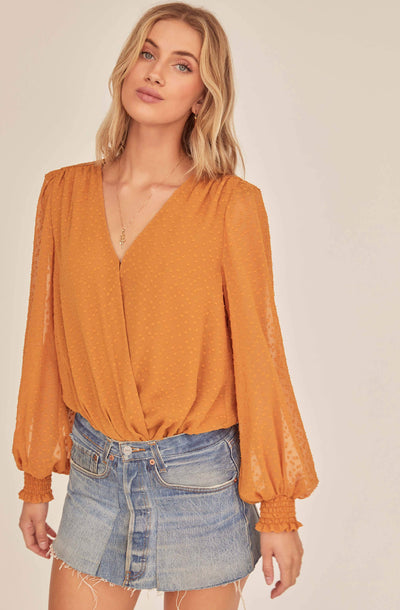 Dixie Wrap Top Bodysuit