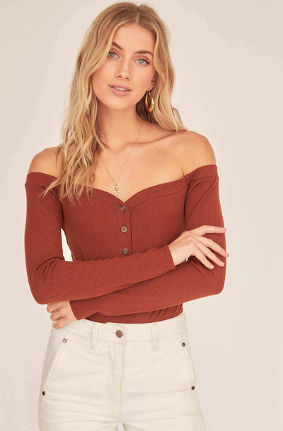 Miya Off Shoulder Bodysuit