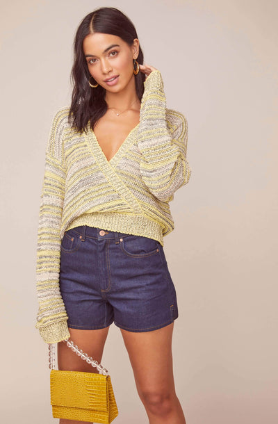 Kent Wrap Sweater
