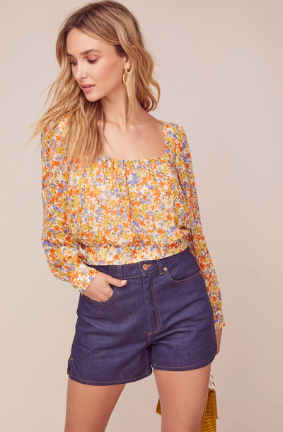 Willa Floral Top