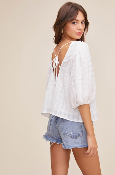 Maris Puff Sleeve Top