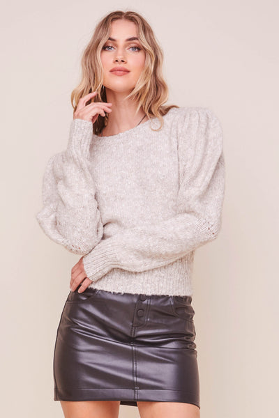 Bexley Puff Sleeve Sweater