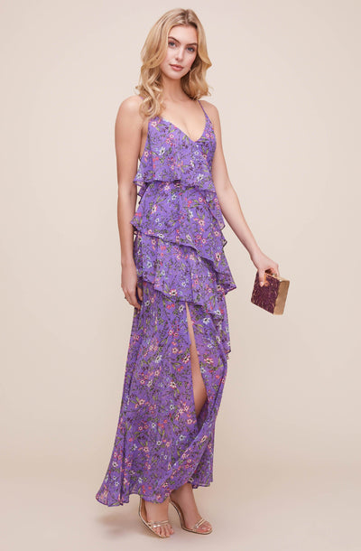 Tiered Cami Floral Maxi Dress