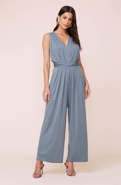 Cinch Waist Jumpsuit