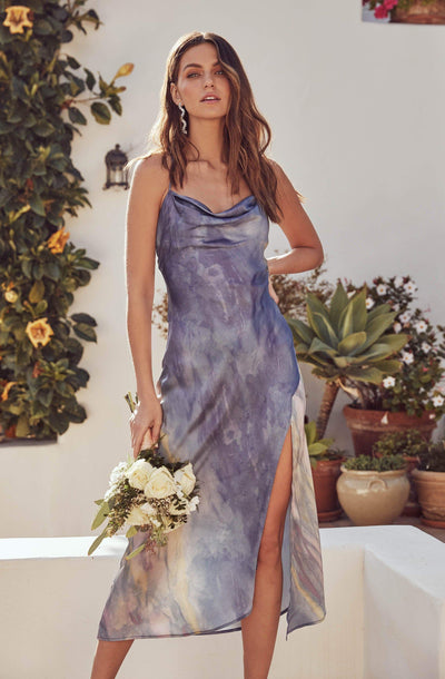 Gaia Tie Dye Midi Dress