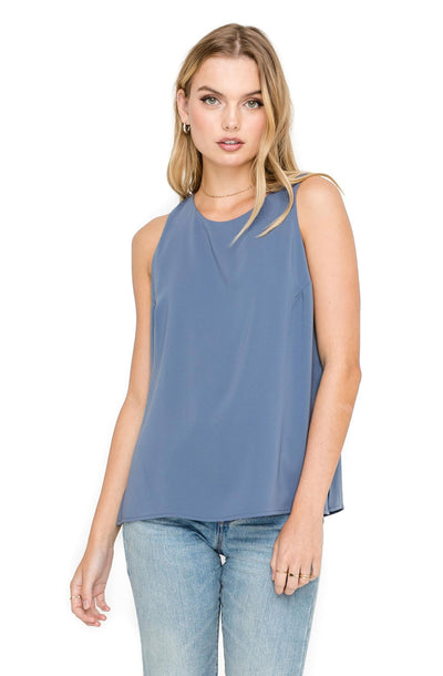 High Neck Open Side Tank