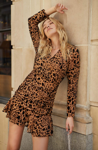 Nikita Leopard Mini Dress