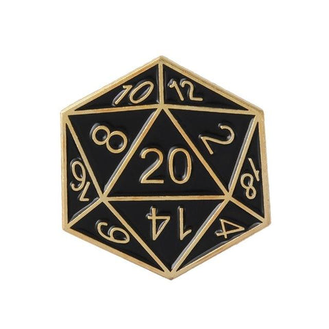 Image of Brooches - Metal Enamel D&D Pins