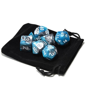 Dice - Arcane Spells Dice Set With Pouch