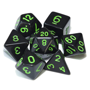 Black Hole Polyhedral Dice Set