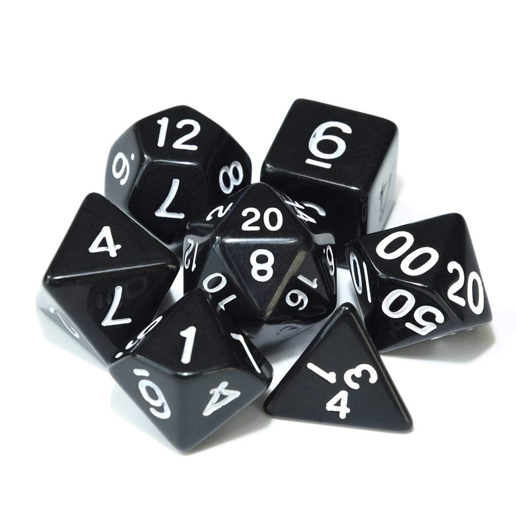 Dice - Black Hole Polyhedral Dice Set