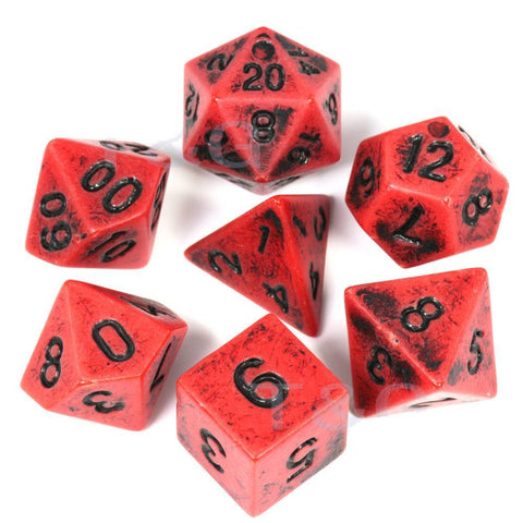 Image of Dice - Blood Stone Dice Set