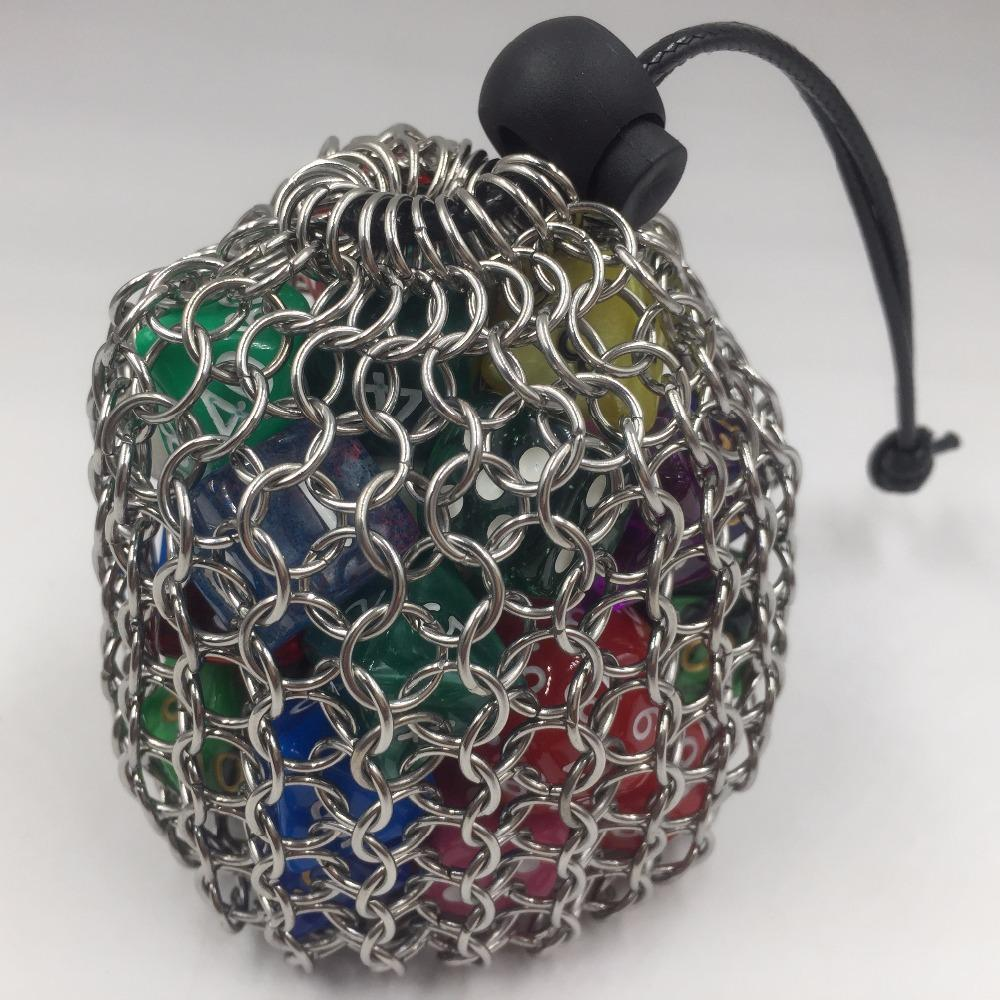 Dice - Chain Mail Dice Bag