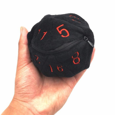 Image of Dice - D20 Dice Bag With Zipper