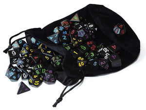 Dice - EPIC Black Hole Bag-O-Dice Bundle (42 Pieces)