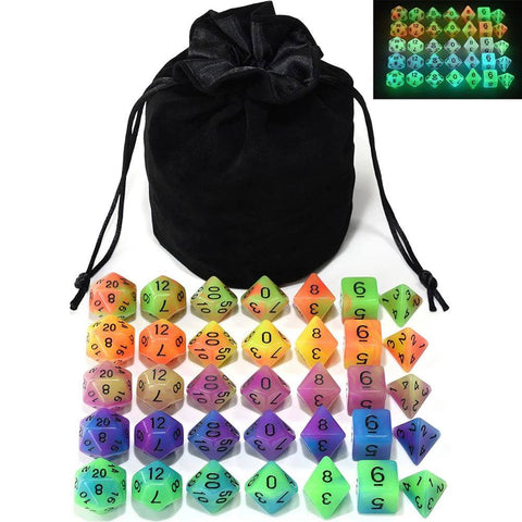 Image of Dice - EPIC Glowing Monsters Bag-O-Dice Bundle (35 Pieces)