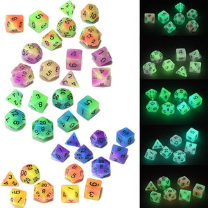 EPIC Glowing Monsters Bag-O-Dice Bundle (35 Pieces)