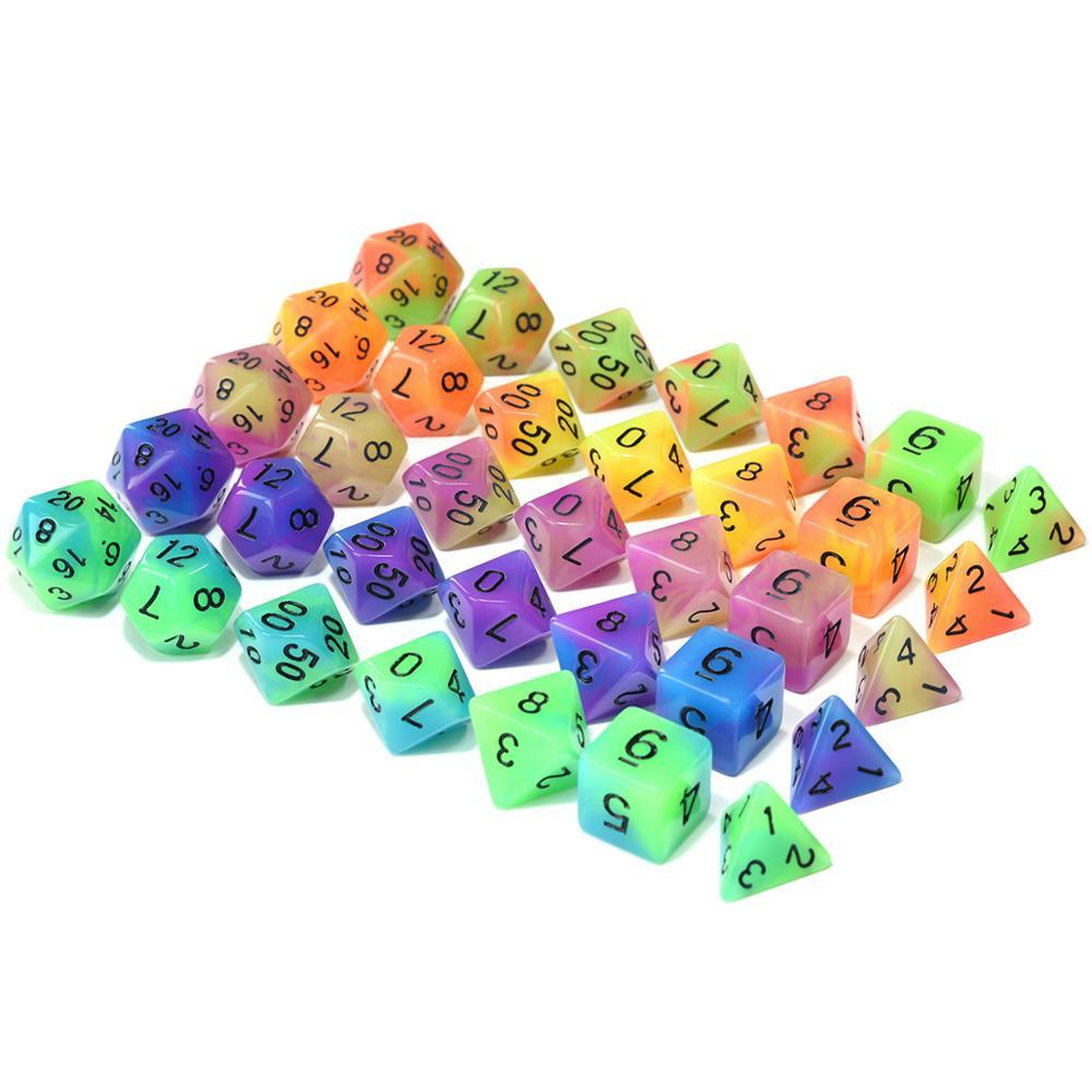 Dice - EPIC Glowing Monsters Bag-O-Dice Bundle (35 Pieces)