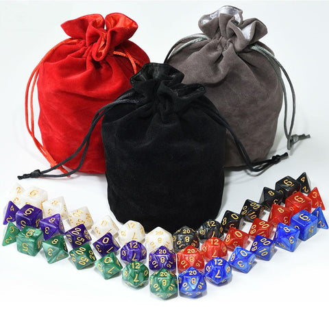 Dice - EPIC Marbled Bag-O-Dice Bundle (42 Pieces)