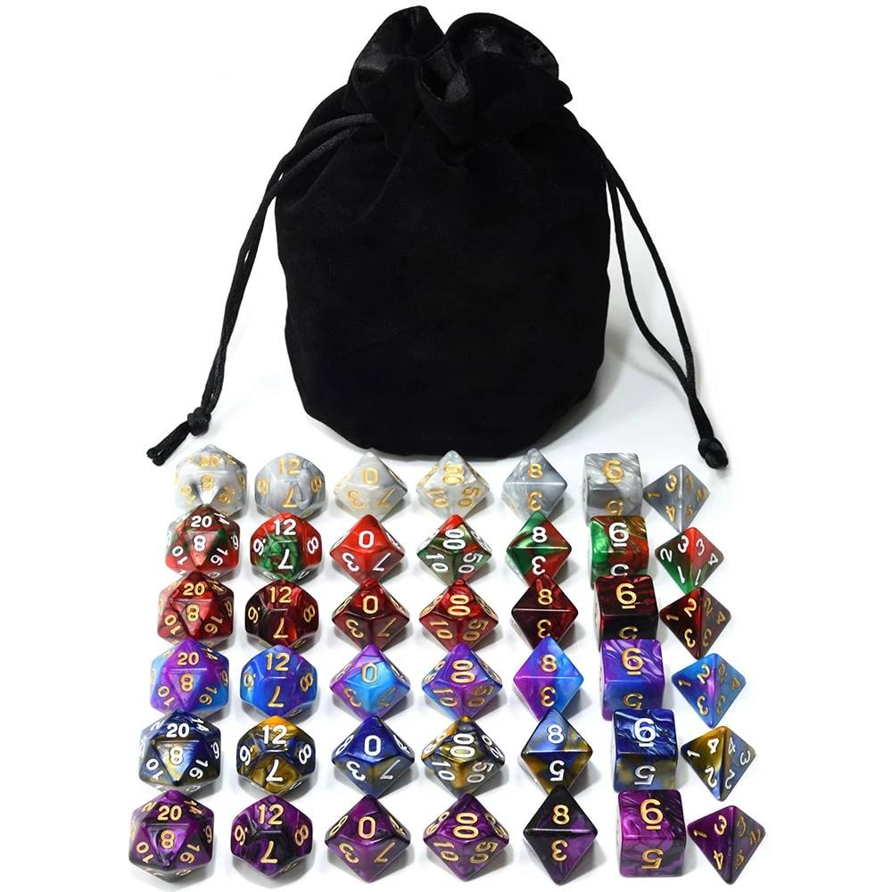 Dice - EPIC Wizarding Bag-O-Dice Bundle (42 Pieces)