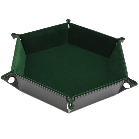 Image of Dice - Foldable Velvet Lined Dice Tray