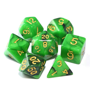 Dice - Nebula Polyhedral Dice Set With Pouch