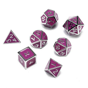 Trinity Adventure Pack (Metal Dice Set/Dice Tray/Glowing Polymer Dice Set)