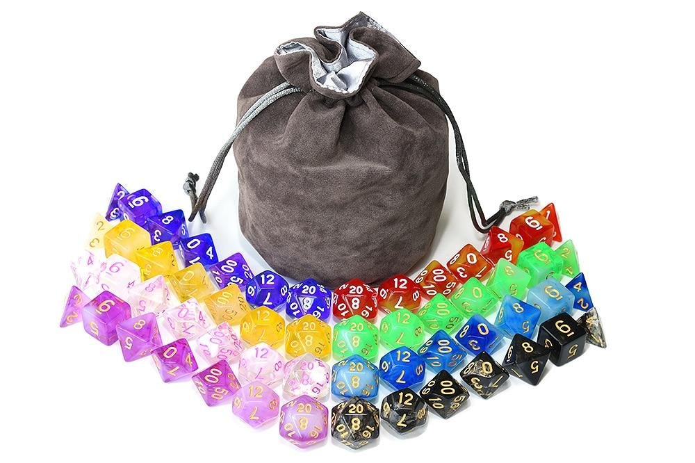 Epic Magic Potion Bag-o-Dice Bundle (56 Pieces)