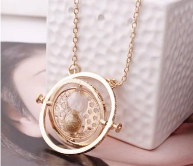 Image of Time Turner Hourglass Necklace