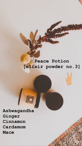 Peace Potion Mini  [Elixir Powder No3]