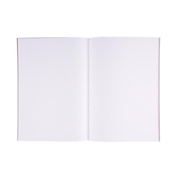 APICA-CD NOTEBOOK-B5 BLANK WHITE