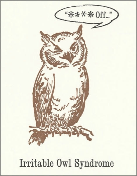 ARCHIVIST-CARD-IRRITABLE OWL SYNDROME