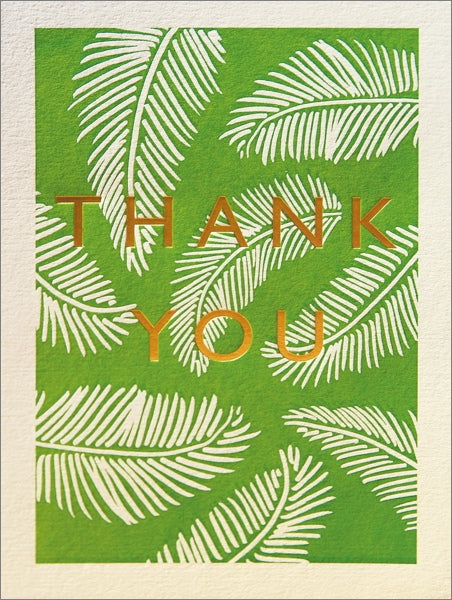 Archivist-Foil Card-Thank You